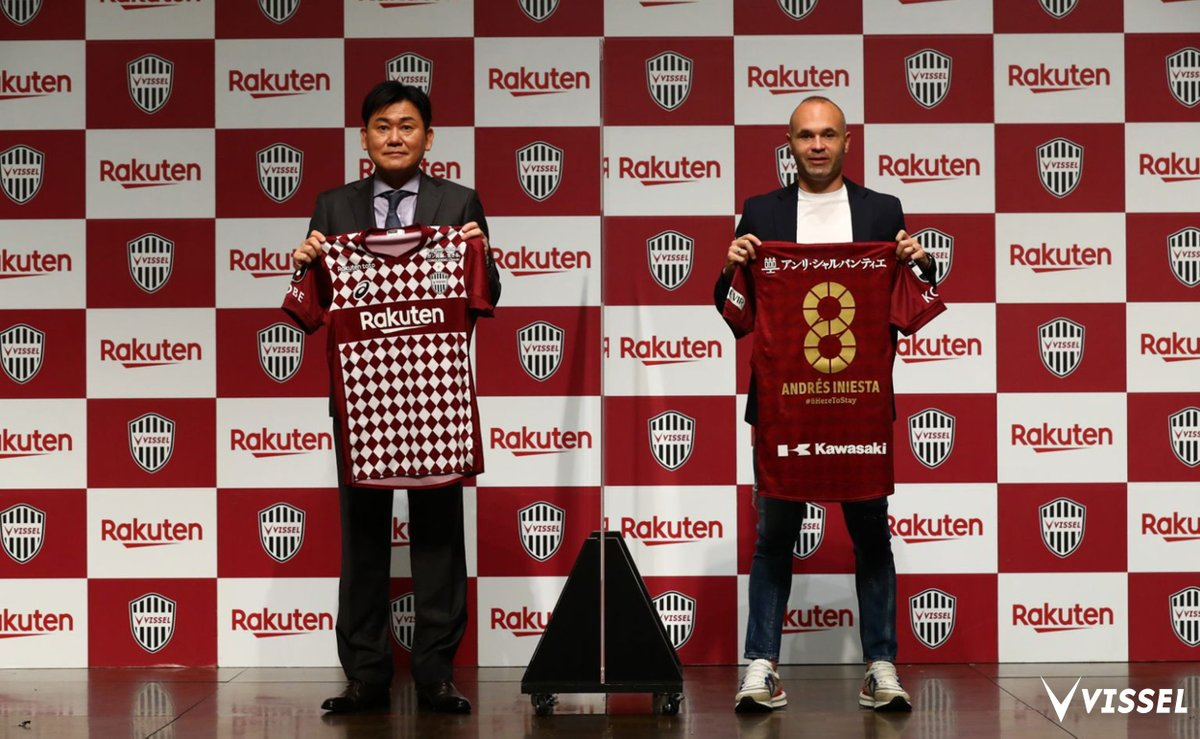 📝Andrés Iniesta has signed a two-year contract extension at Vissel Kobe, keeping him in Japan until at least 2023