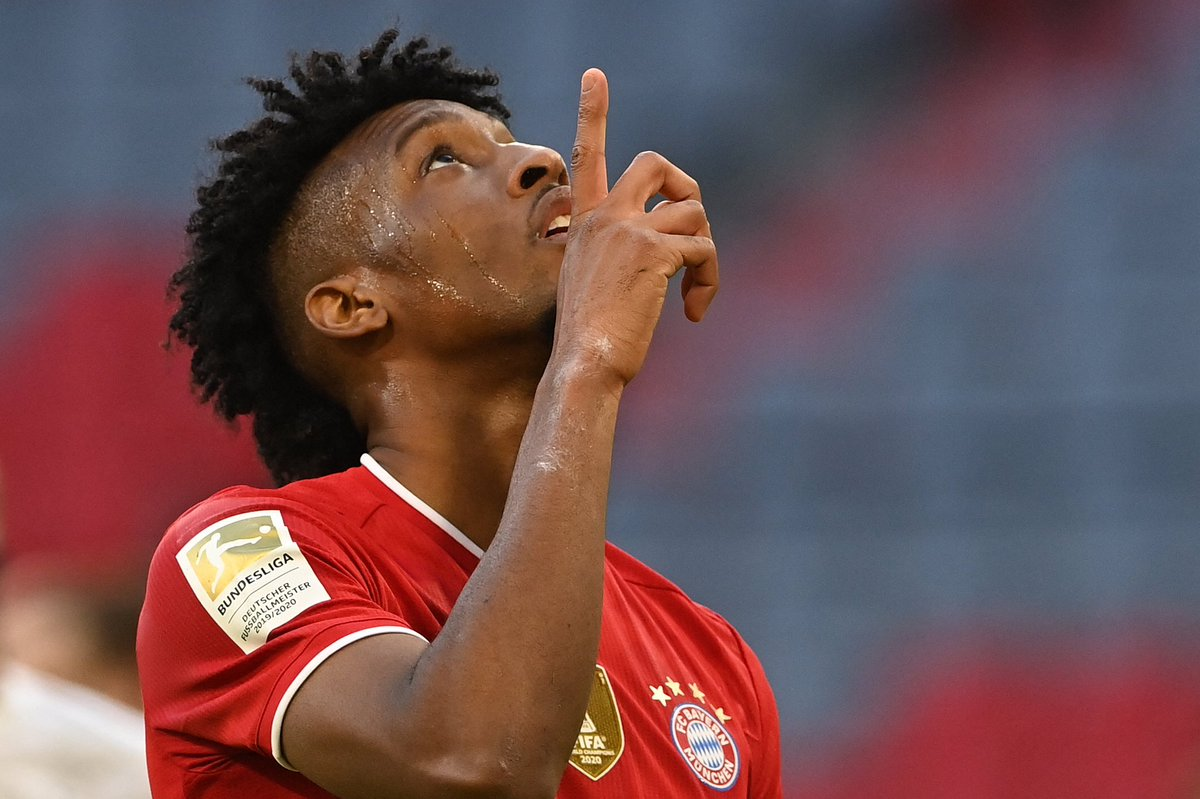 Kingsley Coman wants Bayern Munich to double his wages in a contract extension