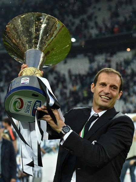 Massimiliano Allegri would be interested in the Roma's head coach if he is offered the role