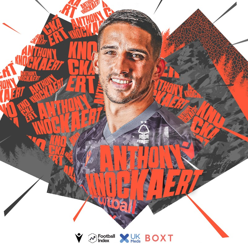 📝Anthony Knockaert has joined Nottingham Forest on a loan deal until January from Fulham